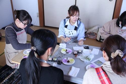 千葉でママ向けの練りきりのワークショップを開催