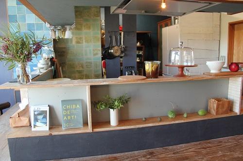 &R日替わりカフェのキッチン
