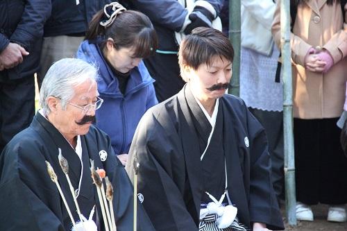 髭撫祭当番の2人