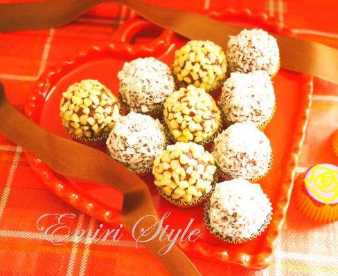 今年は一味違ったバレンタインに。ボンボンチョコレートやトリュフチョコ、お菓子のオシャレな盛り付け方♪