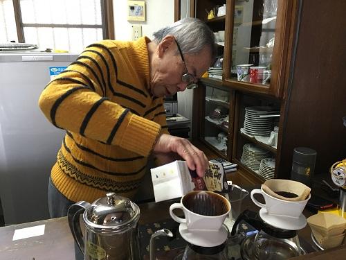 千葉県香取市佐原 遅歩庵いのうの店主さんのいれるコーヒーは絶品