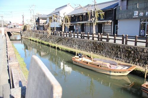 千葉県香取市佐原の町並み
