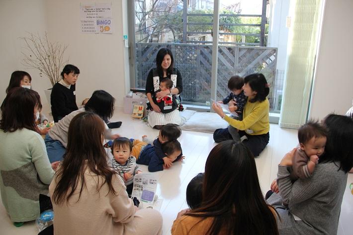 千葉県八千代市のレンタルスペース「My*Style」で開催した「ちいきラボ講座 0歳からのEnglish講座」
