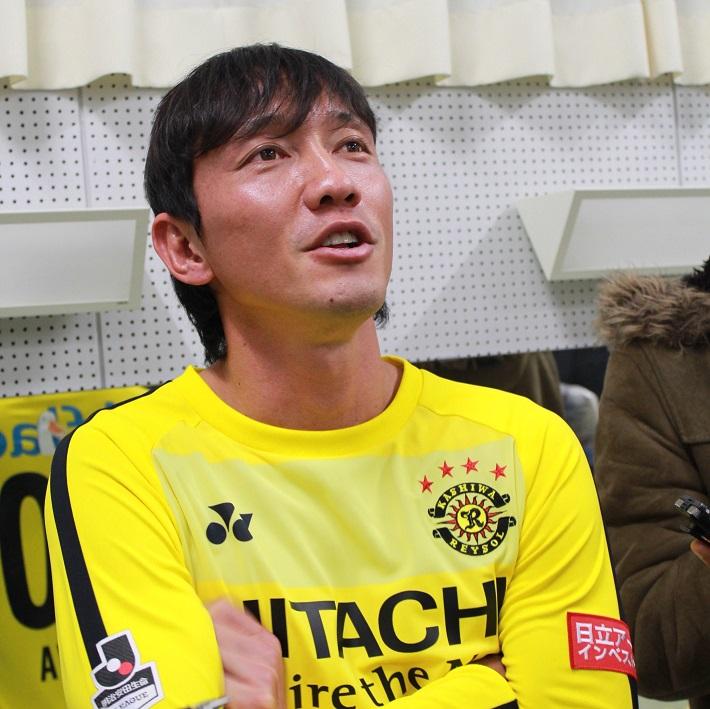 澤選手インタビュー風景