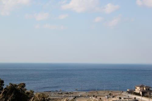 房総フラワーラインは海の近くという好ロケーション