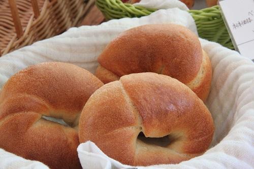 つくばパン屋「ミューレ」ベーグル