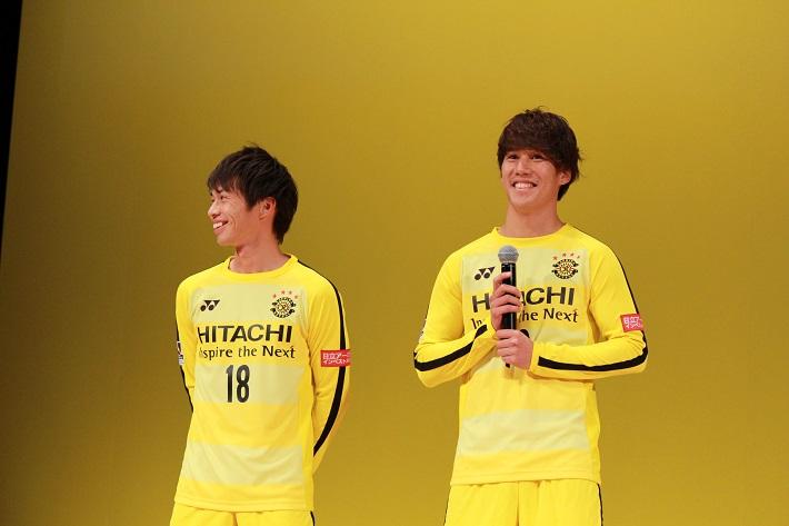 写真左から瀬川選手と江坂選手