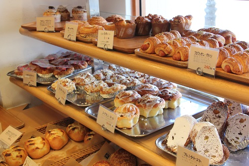 つくばパン屋「モルゲン」店内