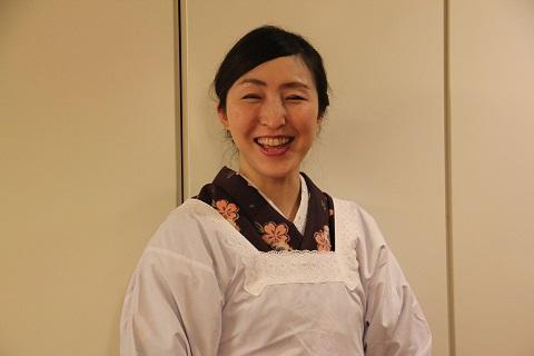 飾り巻き寿司インストラクター鈴木さよりさん