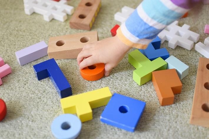 子どもの片付け術。物の置き場所を考えましょう