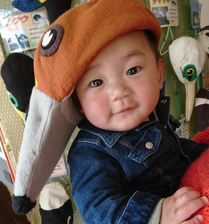 谷津干潟自然観察センターにある「トリの帽子屋さん」ではカワイイ帽子がかぶりたい放題