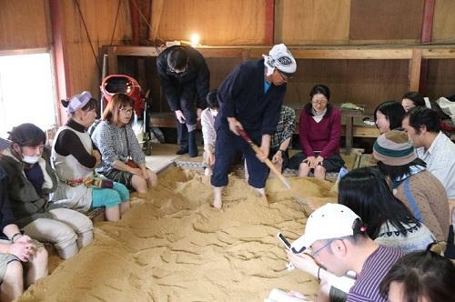 神崎酒蔵まつりでは発酵足湯などのイベントもたくさん