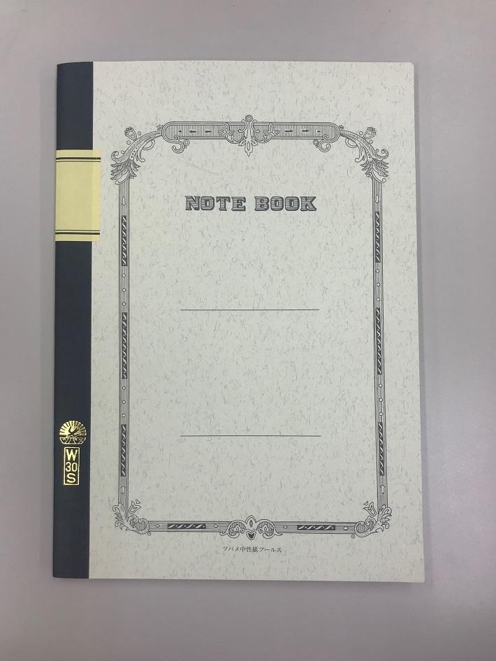 ツバメノートW30S(B5サイズ30枚A罫)170円