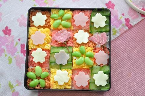 お花見弁当にぴったりな創作寿司