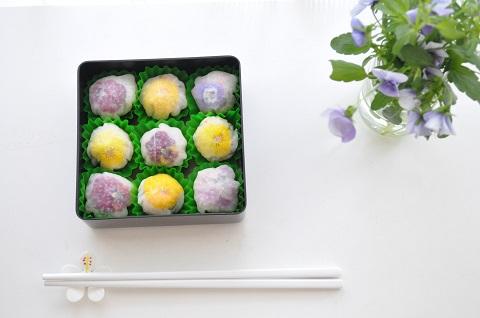 エブリルフラワーを使った創作寿司