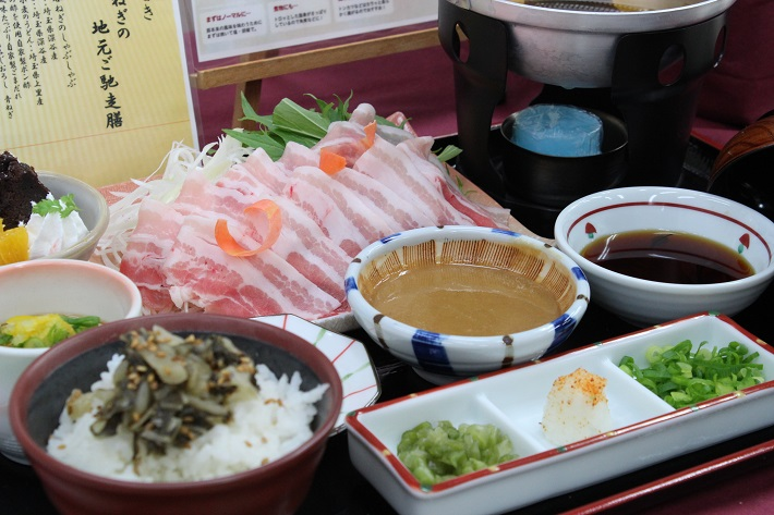 埼玉ブロック代表 姫豚と深谷ねぎの地元ご馳走膳