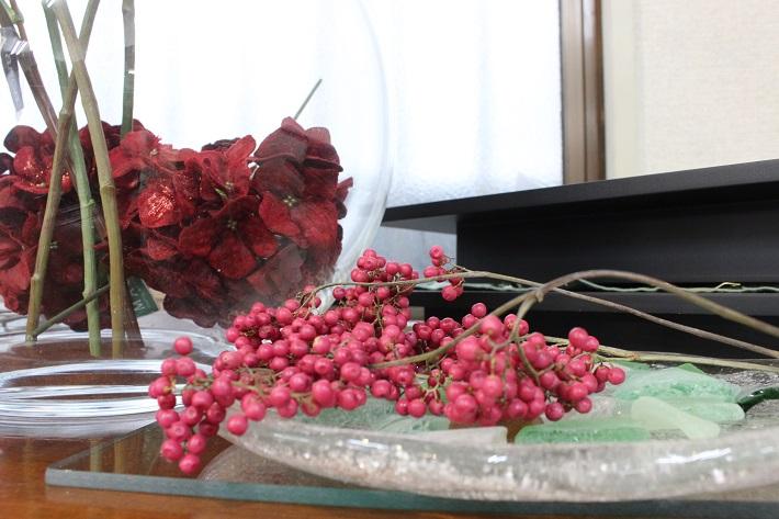 ドライフラワーに向く植物「ペッパーベリー」