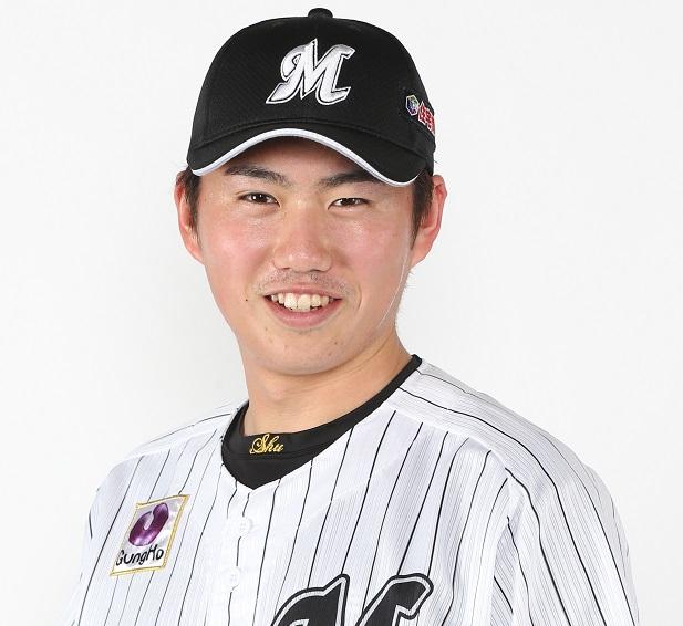 千葉ロッテマリーンズ2018イケメンランキング2位原 嵩(しゅう)選手