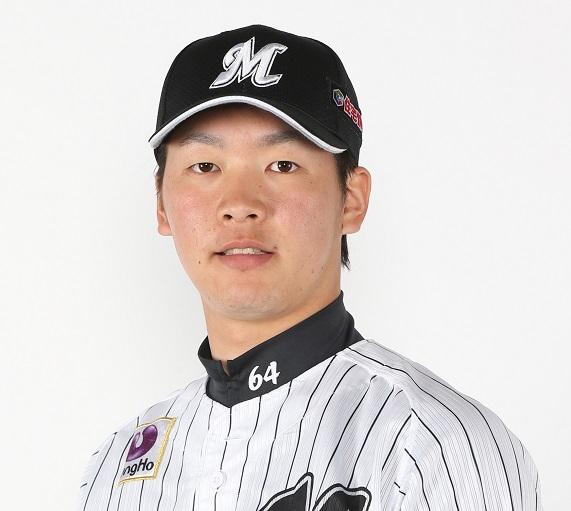 千葉ロッテマリーンズイケメンランキング4位 二木(ふたき)康太 選手