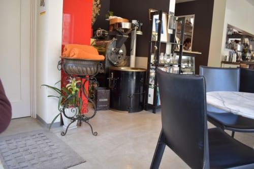 千葉県船橋市アンデルセン公園近く「maxandsons coffee」店内の様子