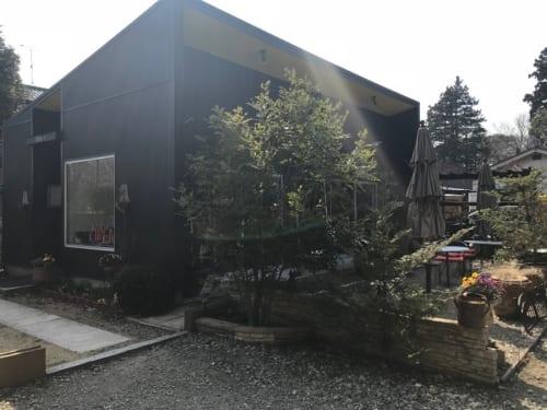 千葉県船橋市アンデルセン公園近く「maxandsons coffee」外観