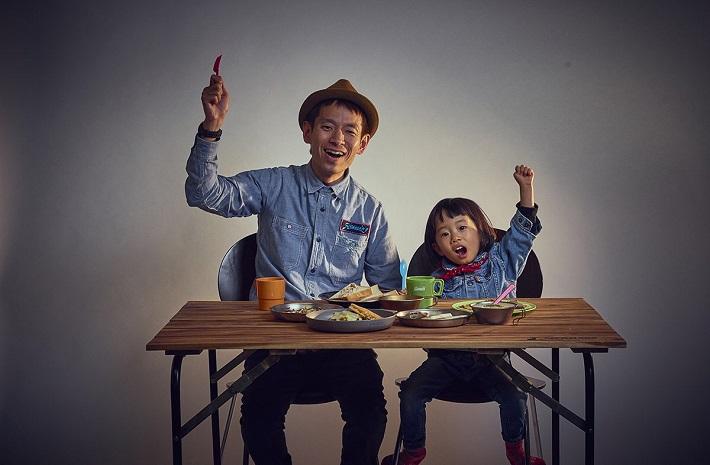 よしもとパパ芸人タケトと娘ちゃん