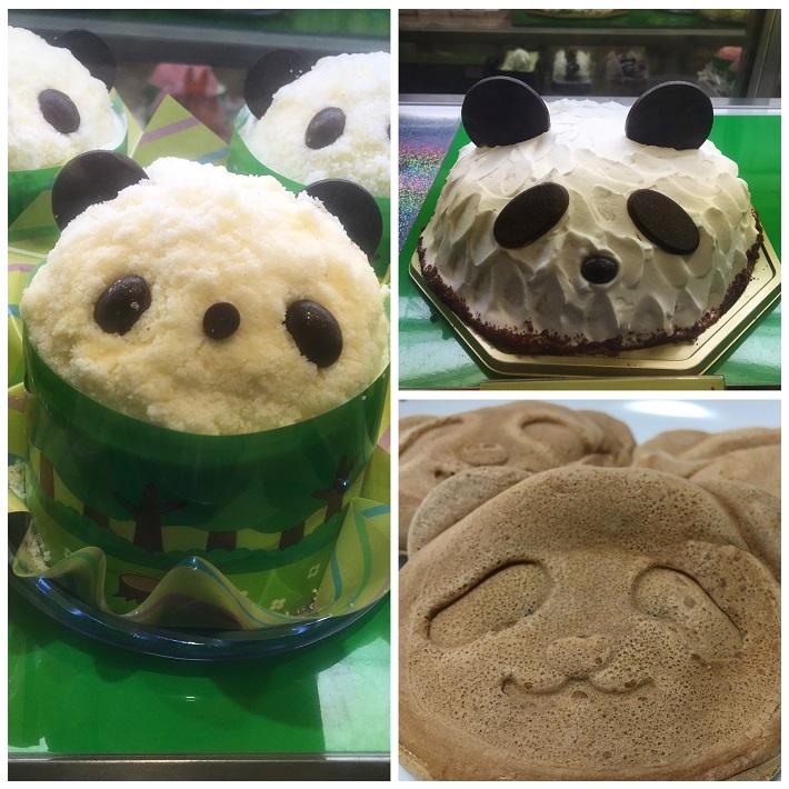 銀座コ―ジーコーナー 上野公園ルエノ店のオススメパンダパン3選。コージーパンダさんのケーキ、プリンセスパンダ、パンダ焼き