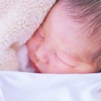 上の子の立会い出産の末生まれた赤ちゃん