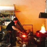 【八千代市】今年も「黒沢池のたたら祭り」で鍛冶工房 metalsmith iiji 他の鍛冶実演!