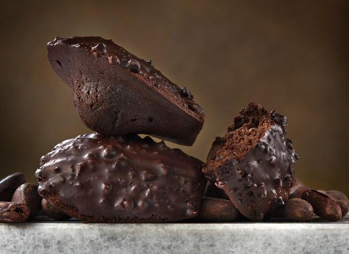 チョコレートくんが主宰するショコラブランド「ショコラドゥシマ」。一番人気のマドレーヌシリーズ