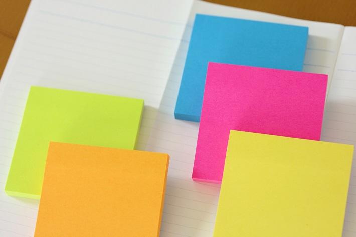 読書感想文の書き方 付箋を使うやり方を紹介