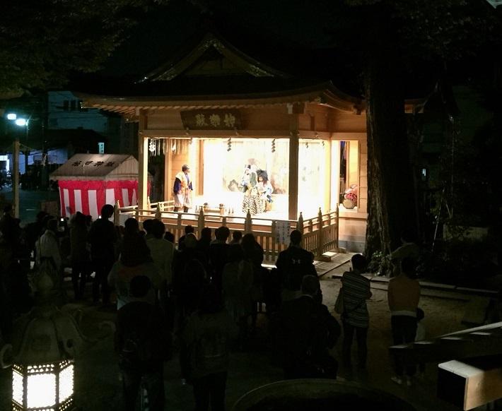 松戸神社の神秘 神楽の舞