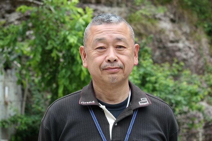 栃木県宇都宮市の大谷資料館の館長を務める鈴木洋夫さん