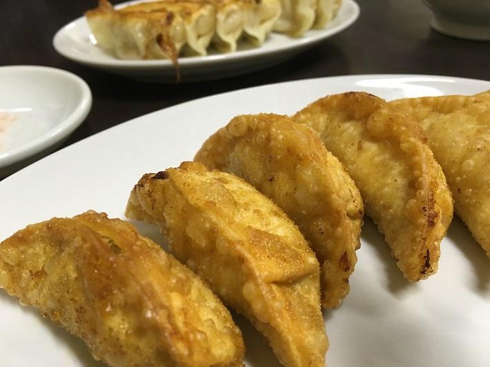 宇都宮餃子の老舗「香蘭」の揚餃子