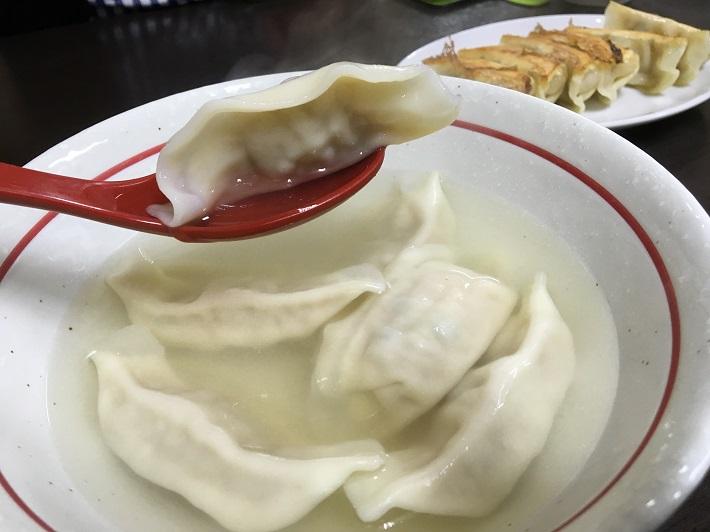 宇都宮餃子の老舗「香蘭」の水餃子