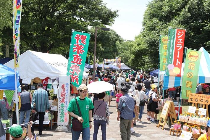 谷津干潟の日フェスタ模擬店写真(昨年の様子)
