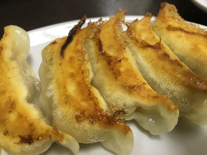 宇都宮餃子の老舗「香蘭」の焼餃子