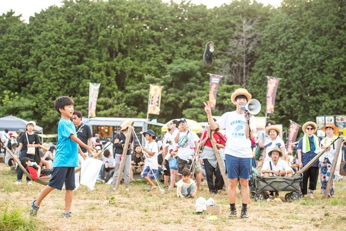 PEANUTS CAMP(千葉県市原市)は親子で夏にでかけるのにぴったりなゆるフェス!カジヒデキさんによるボンビング教室も