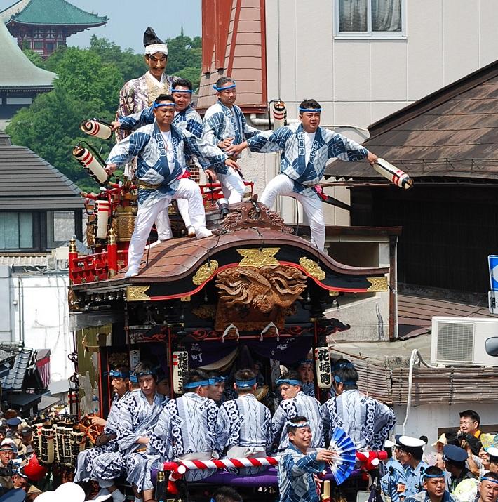 成田の夏の風物詩、成田祇園祭。祭り好きの血が騒ぐ、熱き3日間が始まる。