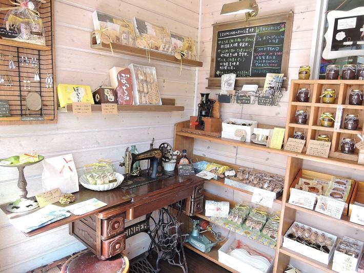 四街道にある和菓子店IZUMINOではお土産にピッタリなカワイイお菓子がたくさん
