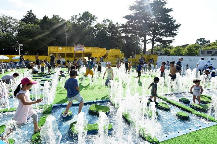 野田市にある清水公園のアクアアドベンチャー