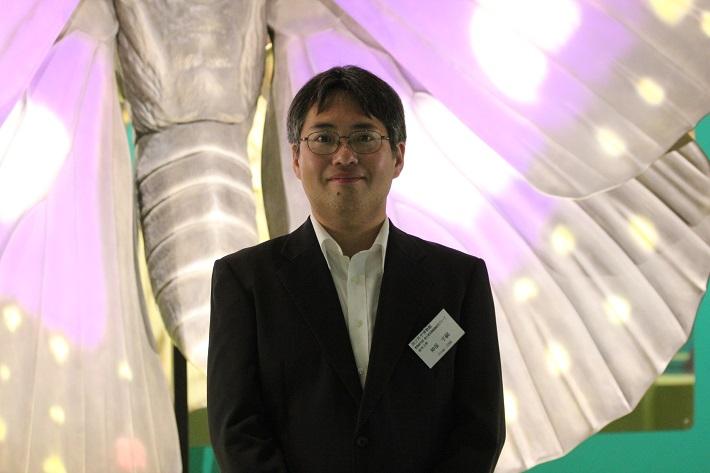 特別展「昆虫」の神保先生に自由研究のヒントをたくさん教えてもらいました。
