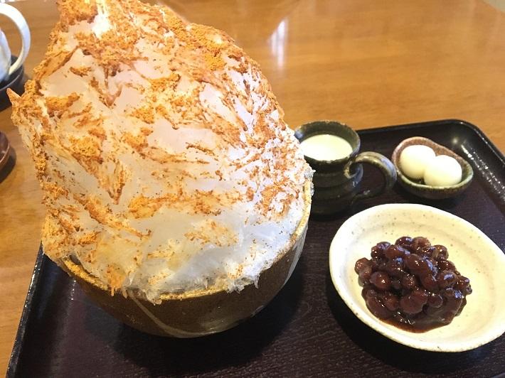 西千葉の人気店 楓のカキ氷