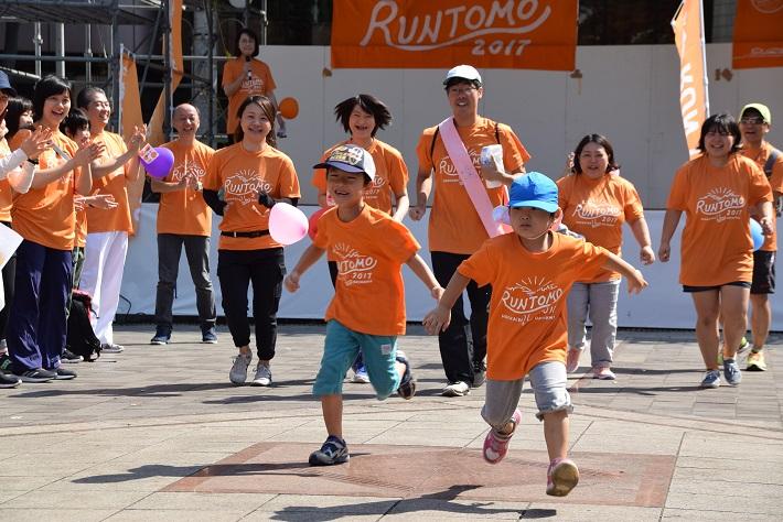 RUN伴 昨年の千葉市開催の様子