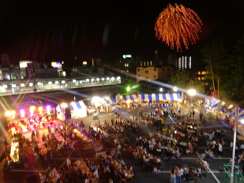 8日24日(金)、25日(土)に取手駅前で開催されるソニックガーデンは会場はたくさんの人でにぎわう