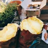 おいしい焼き芋を作るコツは低温でじっくり時間をかけて火を通すことです