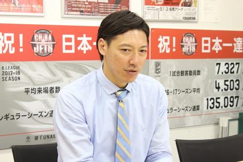 千葉ジェッツ フロント伊藤俊亮さんインタビュー