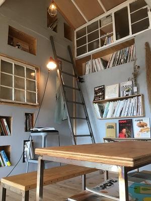 ベーグル専門店「1room」(西千葉)内装2