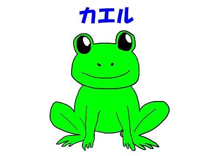 ママキッズヨガ カエルのポーズイメージ