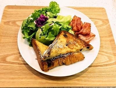 Bakery&Cafeつむぎ(ユーカリが丘)フレンチトースト